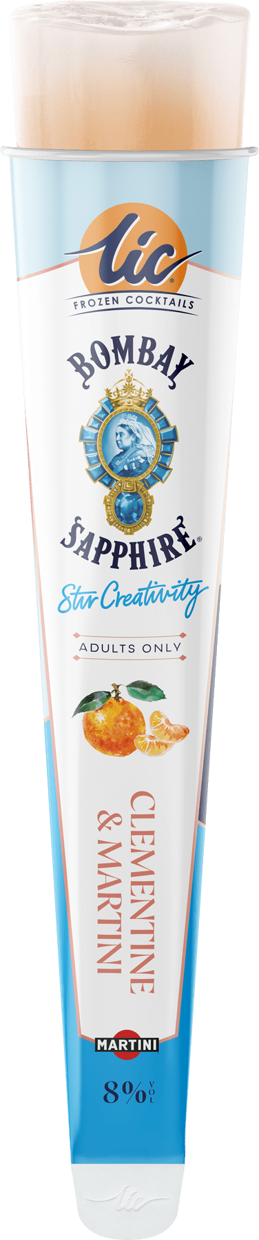 Clementine & Martini: Bombay Sapphire