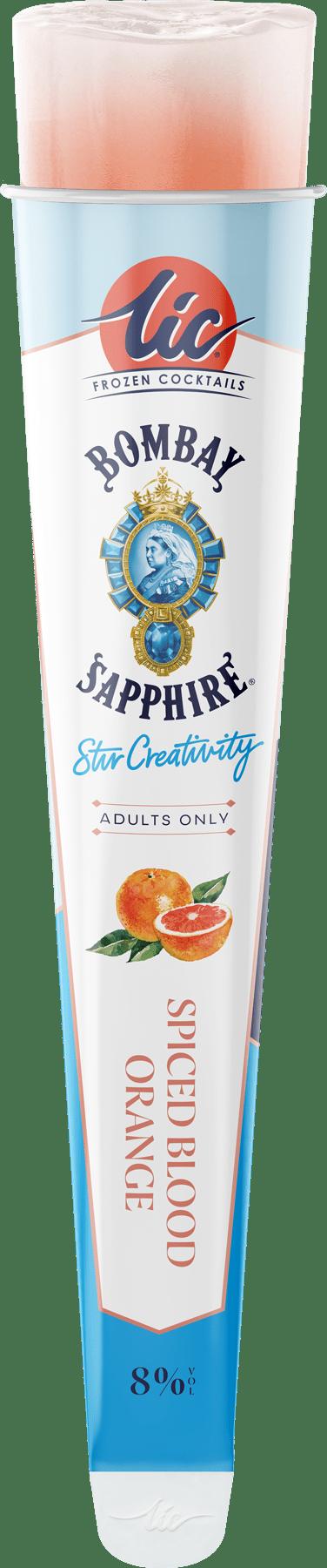 Spiced Blood Orange:Bombay Sapphire