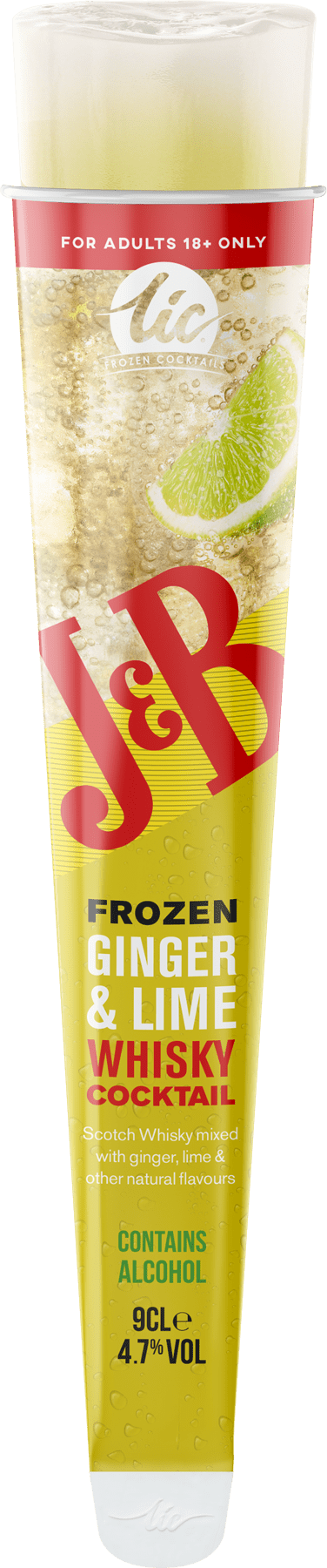 J&B: Ginger & Lime