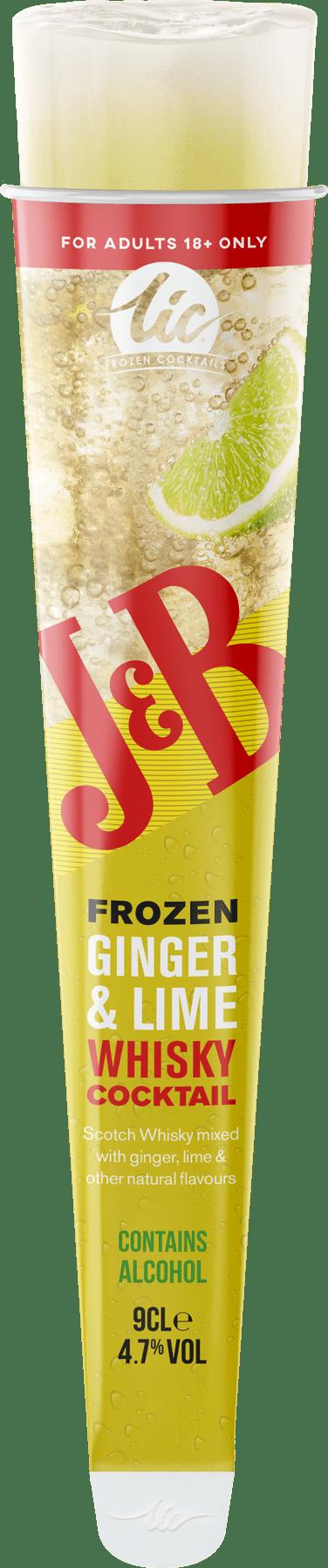 J&B: Ginger & Lime