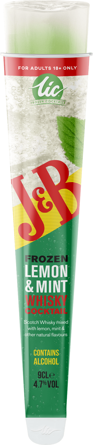 J&B: Lemon & Mint